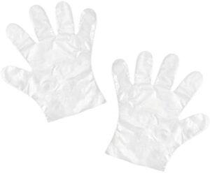 My Custom Style 300 guantes desechables de polietileno, talla única, grandes