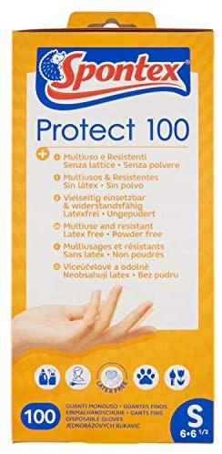 Spontex - Guante Protect 100, Talla S