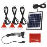 【𝐒𝐞𝐦𝐚𝐧𝐚 𝐒𝐚𝐧𝐭𝐚】 Paneles solares, Paneles solares de 4W Batería portátil Recargable USB 3.7V Energía Solar