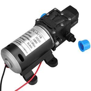 Bomba de Agua de alta Presión, Bomba de Agua de Diafragma, Bomba de Agua Autocebante con Salida de alta Capacidad, Adecuada para Lavadora de Autos, Agua de Energía Solar, Equipo de Agua de Control