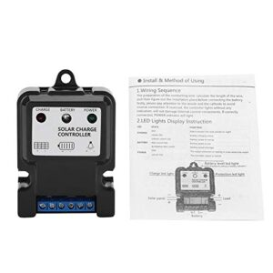 Controlador de carga solar, regulador inteligente inteligente del controlador de carga de descarga de energía solar 5S14.8V10A