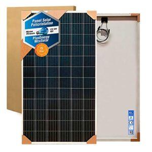 Panel Solar 160w 36 Células 12v Fotovoltaica Ideal para Autocaravana,Caravana y Barco