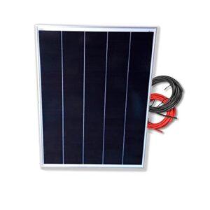 Panel solar monocristalino 200W 12V cable 5 metros Tecnología SHINGLED
