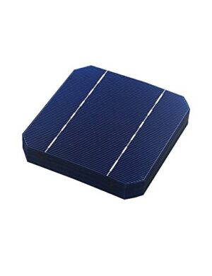 Vikocell 10 piezas 0.5V 2.7W 5x5 Monocristalino de células solares PV oblea para DIY Home Paneles solares fotovoltaicos
