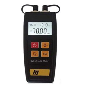 óptico Medidor de Potencia,-70~+6 dBm Localizador Visual de Fallos, Fibra óptica Cable Tester Medidor,para CATV CCTV(1mW 5km)